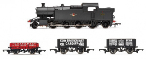 R3670 - Hornby BR (Late) 2-8-2 '7224' 72xx Class & Wagon Train Pack