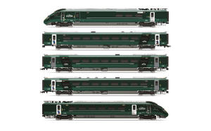 R3691 - Hornby - GWR, Hitachi IEP Bi-Mode Class 800/0, 'Paddington' Livery Five Car Train Pack - Era 11