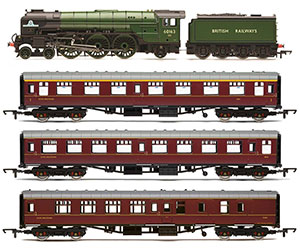 R3828 - Hornby British Railways, 60163 Tornado 'The Aberdonian' Train Pack - Era 11