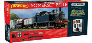 Hornby Model Railway Train Sets - Hornby Somerset Belle Train Set - R1125