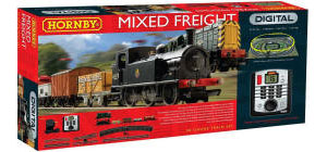 Hornby Model Railway Train Sets - Hornby Mixed Freight Train Set - R1126