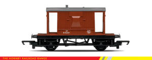 Hornby Model Railway RailRoad Range - BR 20 Ton Brake Van - R6368