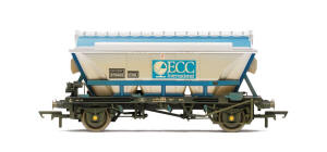 Hornby ECC Hopper Wagon - Weathered - R6648