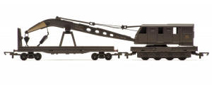 Hornby Model Railway RailRoad Range - Hornby Breakdown Crane - R6689