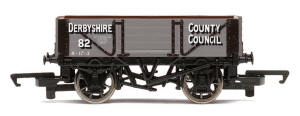 Hornby Derbyshire County Council - 4 Plank Wagon - R6698
