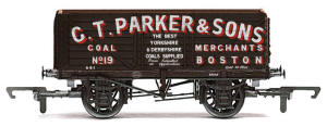 G.T. Parker & Sons, Boston - 7 Plank Wagon - R6703