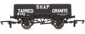 Hornby 'Shap Tarred Granite' - 5 Plank Wagon - R6750