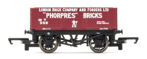 Hornby 'London Brick Company' - 6 Plank Wagon - R6754