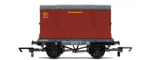 Hornby BR Conflat & Container Wagon - R6776