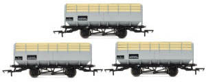 Hornby BR 20 Ton Coke Hopper Wagons - Three Wagon Pack - R6783