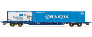 R6793 - Hornby Tiphook KFA Container Wagon - Hanjin