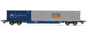 R6794 - Hornby Tiphook KFA Container Wagon - CCL