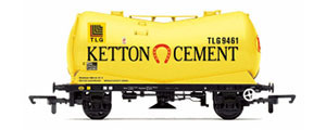 R6820 - Hornby PCA Vee Tank Wagon 'Ketton Cement'