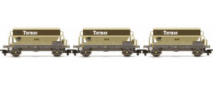 R6829 - Hornby PGA Hopper Wagons, Tarmac - Three Wagon Pack