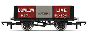R6947 - Hornby Dowlow Lime, 5 Plank Wagon, No. 7 - Era 2/3