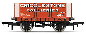 R6949 - Hornby Crigglestone Collieries, 6 Plank Wagon, No. 222 - Era 2/3