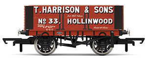 R6950 - Hornby H. Harrison & Sons, 6 Plank Wagon, No. 33 - Era 2/3