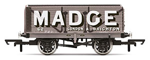 R6952 - Hornby Madge, 7 Plank Wagon, No. 62 - Era 2/3
