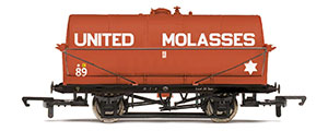 R6955 - Hornby United Molasses, 20T Tank wagon, No. 89 - Era 3/4