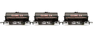 R6959 - Hornby Corn Products, 20T Tank wagons, three pack - Era 3/4