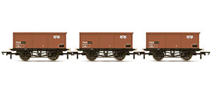R6965 - Hornby BR, 27T MSV Iron Ore Tipplers, three pack - Era 7