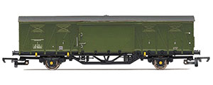 R6968 - Hornby BR, ZYX ex-Ferry Van Electrification Engineer Construction, LDB 786913 - Era 8