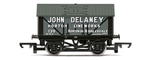 R6977 - Hornby John Delaney, 8T Lime Wagon, No. 130 - Era 2/3