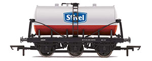 R6978 - Hornby St. Ivel, 6-Wheel Milk Tanker, 44029 - Era 3/4