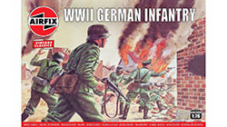 Airfix Vintage Classics - WWII German Infantry - 1:76 (A00705V)