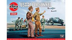 Airfix Vintage Classics - USAAF Personnel - 1:76 (A00748V)