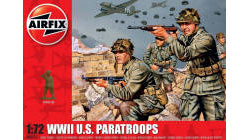Airfix - WWII US Paratroops - 1:72 (A00751)