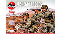 Airfix Vintage Classics - WWII US Paratroops - 1:76 (A00751V)