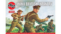 Airfix Vintage Classics - WWII British Infantry N. Europe - 1:76 (A00763V)