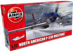 Airfix - North American P-51D Mustang - 1:72 (A01004A)