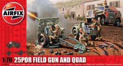 Airfix - 25pc Field Gun and Morris Quad - 1:76 (A01305)