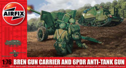 Airfix - Bren Gun Carrier and 6pdr Anti-Tank Gun - 1:76 (A01309)