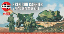 Airfix - Bren Gun Carrier and 6pdr Anti-Tank Gun - 1:76 (A01309V)