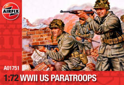 Airfix - WW2 USA Paratroops - A01751