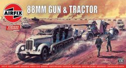 Airfix - 88mm Gun and Sd Kfz7 Tractor - 1:76 (A02303V)