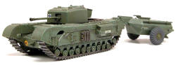 Airfix - Churchill Crocodile Tank - 1:76 (A02321)