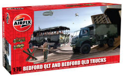 Airfix - Bedford QTL and Bedford QLD Trucks - A03306