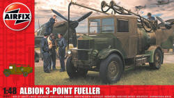 Airfix - Albion AM463 3-Point Refueller - 1:48 (A03312)