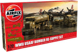Airfix - USAAF 8th Air Force Bomber Resupply Set - 1:72 (A06304)