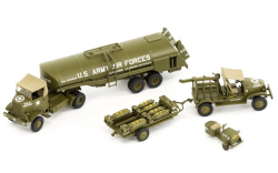 Airfix - Eighth Air Force Resupply Set - 1:72 (A12010)