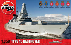 Airfix - HMS Daring Type 45 Destroyer - 1:350 (A12203)