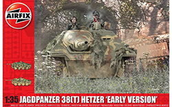 Airfix - JagdPanzer 38 tonne Hetzer, Early Version - 1:35 (A1355)
