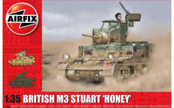 Airfix - M3 Stuart, Honey (British Version) - 1:35 (A1358)