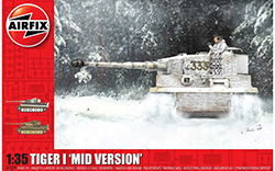 Airfix - Tiger-1, Mid Version - 1:35 (A1359)