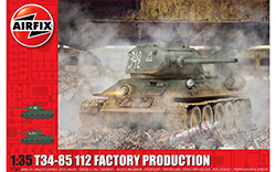 Airfix - T34/85, 112 Factory Production - 1:35 (A1361)