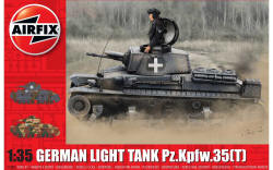 Airfix - German Light Tank Pz.Kpfw.35(t) - 1:35 (A1362)